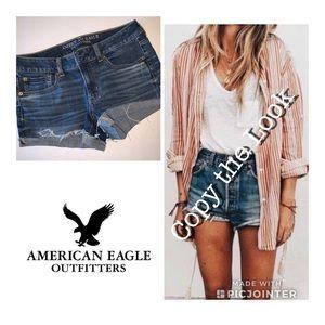 America Eagle Jean Shorts